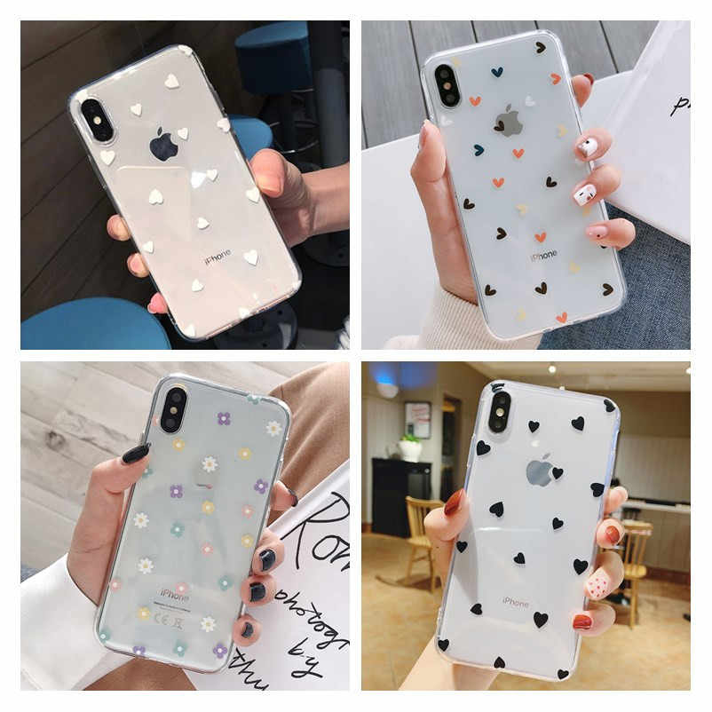 Telefoon Case Voor Iphone 11 Pro Max Leuke Cartoon Paar Soft Tpu Voor Iphone 7 8 Plus 6 6S X Xr Xs Max 5 5S Se Cover