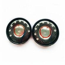 Alto falante de headphone dinâmico, 2 peças 40mm 32 ohm drivers de alta fidelidade, substituição diy para bose qc2 qc15 qc25