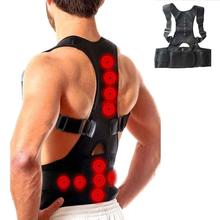 Adjustable Magnet Therapy Back Posture Corrector Clavicle Spine Back