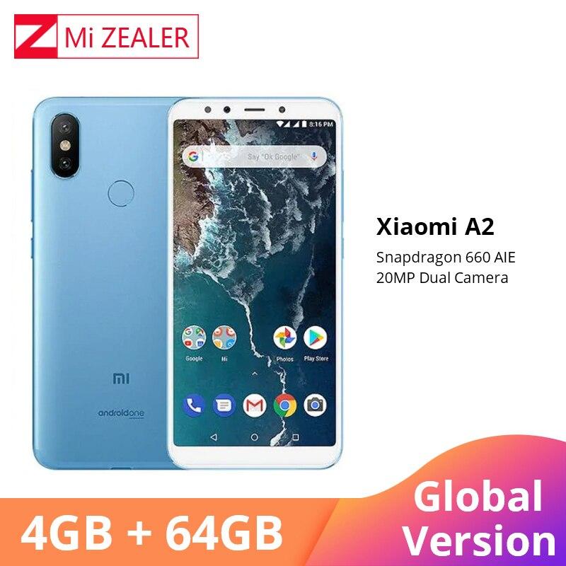 Global Version Xiaomi A2 4GB RAM 64GB ROM Mobile Phone 5.99
