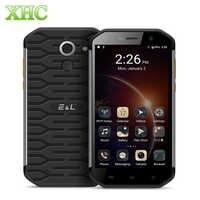 Téléphone portable Android étanche KENXINDA KXD E & L S60 IP68 3GB 64GB téléphone portable Octa Core double SIM LTE 4G Smartphone à empreinte digitale