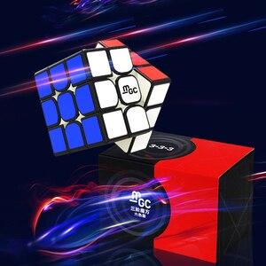 Image 2 - Yj Mgc 2 Cubo Magico V2 3x3x3 Elite prędkość cięcia GAN 356 powietrza profesjonalna magiczna kostka Puzzle magnetyczne
