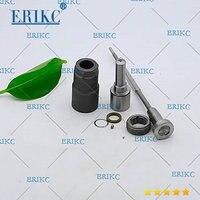ERIKC Injector Repair Kit Nozzle DSLA142P795 Valve F00VC01003 Rebuilt for Bosch common rail injector 0445110008 0445110044