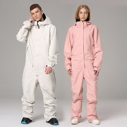 Лыжный костюм, комбинезон, куртка для сноуборда, для мужчин, для прогулок, лыжного спорта, набор, зимняя женская одежда, подкладка, одежда, ко...
