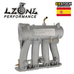 LZONE - Aluminum Intake Manifold For 1988-2000 Honda Civic CRX Del Sol SOHC D Series CX DX EX GX JR-IM51