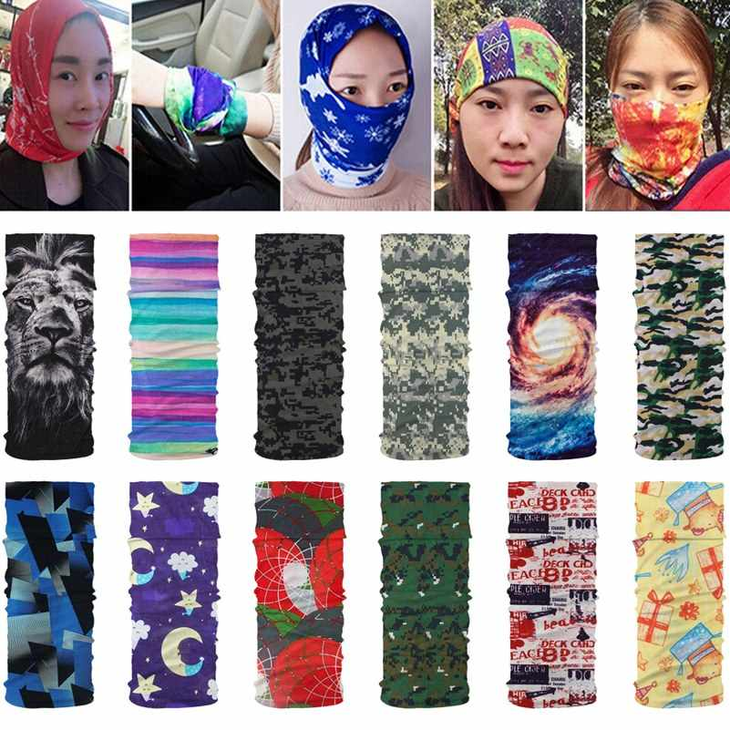 Gwolf Tube Scarf Mask Face Mask Neck Gaiter for Cycling Hiking Running Magic Head Scarf Sunscreen Breathable Bandana Neck Tube Headband Bandanas Multifunctional Tube Headwear Neck Gaiter