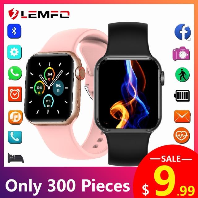 LEMFO Iwo mini PK DT100 PLUS W37 Smart Watch Men Women IP68 Waterproof Health Monitoring H13B Smartwatch 2021 For Apple Iwo W26 1