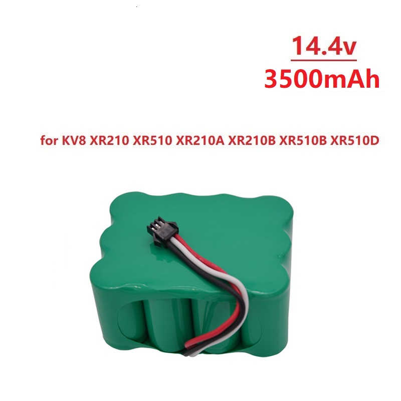 14.4V Rechargeable Battery SC Ni-MH 3500mAh Vacuum Sweeping Cleaner Robot for KV8 XR510 XR210A XR210B XR510A XR510B XR510C 510D