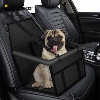 DEKO Folding Hammock Protector Dog Bed Car Front Seat Cover Pet Carriers Mesh Bags Caring Cat Basket Waterproof Pets Travel Mat 1