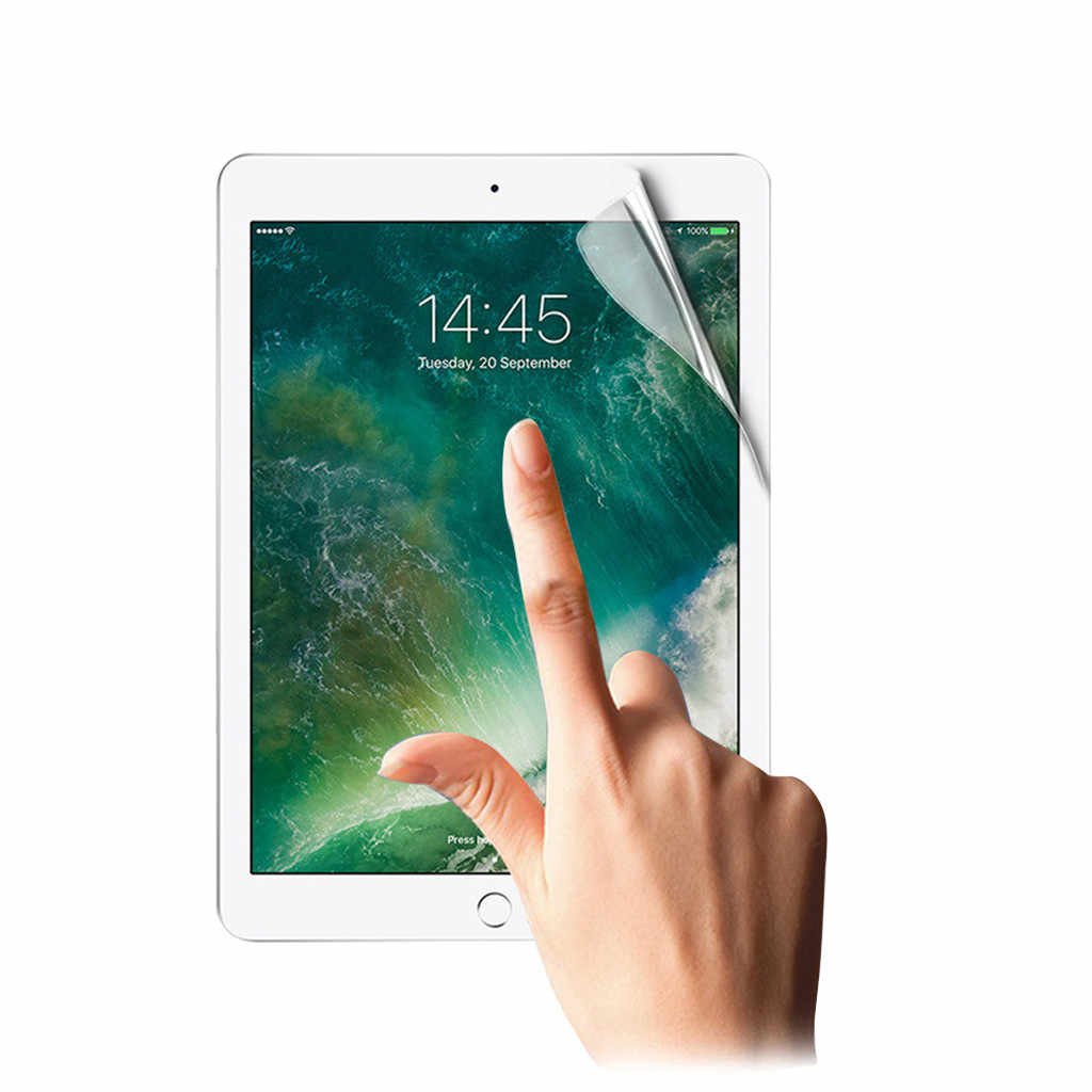 FENIORES أقراص واقي الشاشة لباد 7th جيل 10.2 بوصة 2019 واضح لينة هيدروجيل واق شاشة رقيق