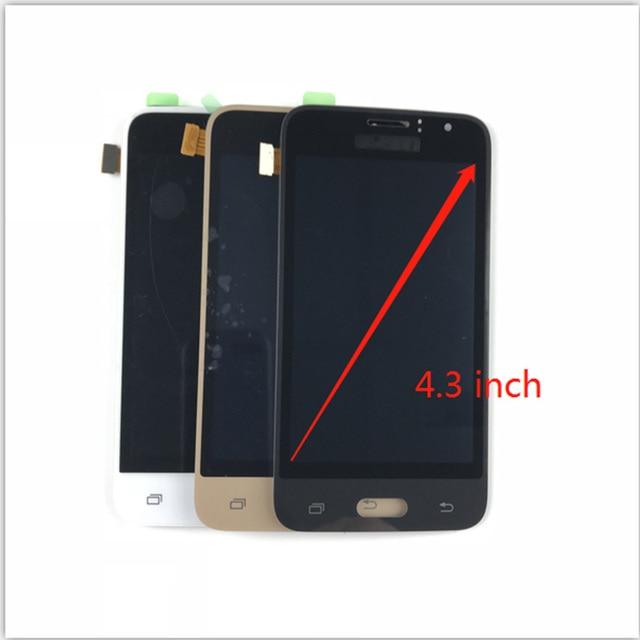 J120 LCD J120 fer LCD pour Samsung Galaxy J1 2016 J120 J120A J120H ajuster LCD écran tactile numériseur assemblée