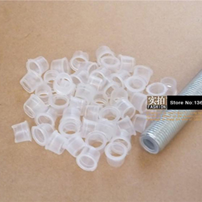 M10 Hollow Tooth Care Line Pipe Transparent Plastic Stopper Plug Protection Coils Lighting Accessories