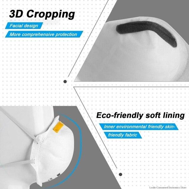 9pcs FFP1 MASK ,anti dust protective mask, prevent flu 5