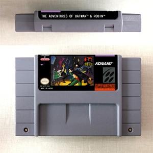 Image 1 - Die Abenteuer von Batmans Spiel & Robin   Action Game Card US Version Englisch Sprache