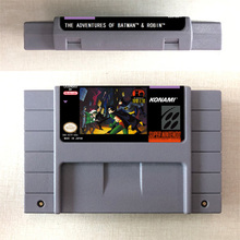 The Adventures of Batmans Game & Robin   Action Game Card US Version English Language