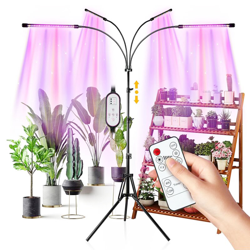 Полный спектр светодиодный Grow светильник DC 5V USB Фито настольные лампы лампа для роста растений для комнатных растений цветок Вег рассада со...