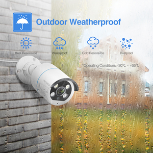 Image 5 - Techege 8CH 2MP POE AI Cameras System Two way Audio Human detection Metal Waterproof Outdoor Video Camera CCTV Camera System
