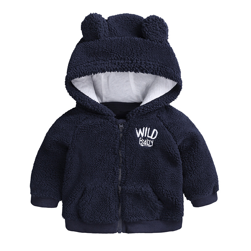 US Winter Warm Newborn Baby Boy Girl Hooded Coat Jacket Clothes Outerwear New