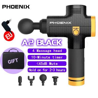 Phoenix A2 pistolet de Massage musculaire masseur de tissus profonds pistolet de thérapie exercice soulagement de la douleur musculaire mise en forme du corps