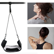 Neck Cervical Stretcher Traction Device Cervical Support Brace Relieve Neck Pain Chiropractic Spine Massager Hammock