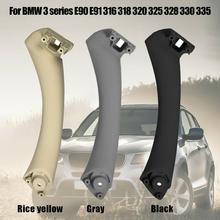 Car Interior Door Handle for BMW 3 series Inner Armrest Panel Pull Trim Cover E90 E91 Accessories