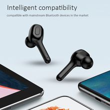Wireless Headphones With MIC 6D Stereo Headset IPX7 Waterproof Bluetooth Earphone
