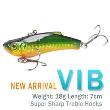 7 см/18g7 цветная бионическая приманка новый стиль vib luya