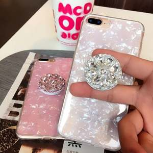 Phone-Holder Samsung Diamond for Samsung/Universal/Expanding/Stents Car-Mount Bling Finger-Ring