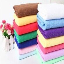14 цветов, Впитывающее Воду полотенце, полотенце для купания, полотенце для ванной, Микро волокно, сушильное пляжное полотенце, одноцветное, экологичное, мягкое и комфортное