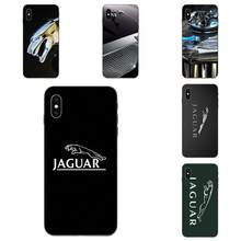 Soft TPU Phone Cover Case Coque Voor Apple iPhone 4 4S 5 5S SE 6 6S 7 8 11 Plus X XS Max XR Pro Max Jaguars Auto Merk(China)