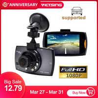 VicTsing 2.2-inch Car Recorder DVR Camera Full HD Screen 1080P/720P Night Vision Car Video Camcorder Recorder Auto Front Camera