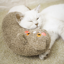 Soft Cat Pillow Neck Support Head Protection Pet Pillows Lovely Cat Accessories