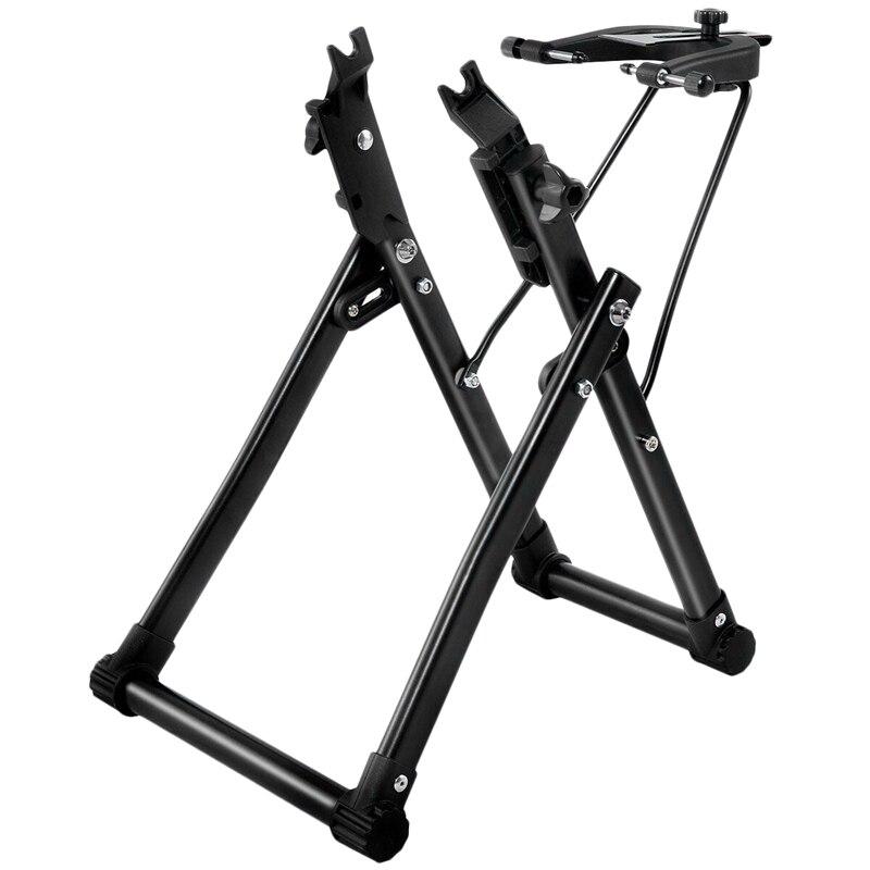 Spor ve Eğlence'ten Bisiklet Tamir Aletleri'de Bisiklet tekerlek Truing standı ev mekanik Truing standı için 16 inç 29 inç 700C tekerlekler title=