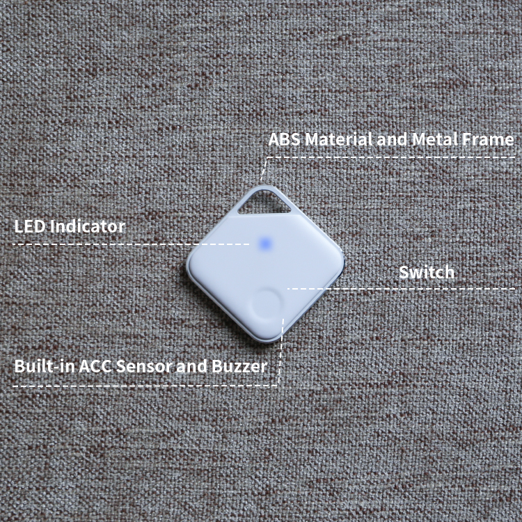 Mini Smart Tag Keychain Search Beacon Ble Anti-Lost Alarm Location Tracker Key Finder Bluetooth