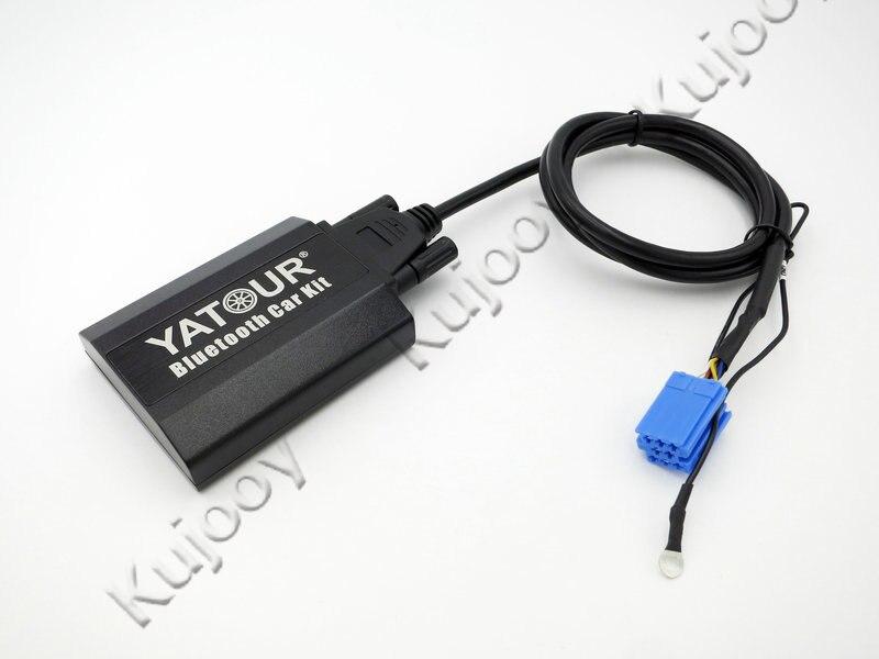 Yatour Kit voiture Bluetooth numérique musique CD changeur CDC connecteur pour Audi A2 A3 A4 S4 A6 S6 A8 S8 Allroad TT Radios