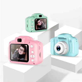 Children Mini Cute Digital Camera 2.0 Inch Photo Picture Camera 1080P Children Toys Gift Video Recorder Camcorder Christmas Gift