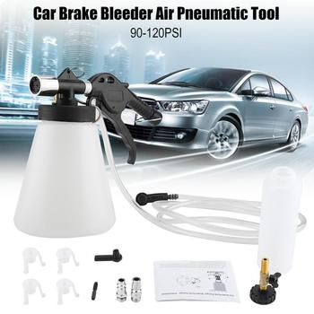 Car Brake Bleeder Bleeding Fluid Change Kit Air Pneumatic Garage Vacuum Tool 180Ltr/Min Set 90-120PSI Car Accessories car tools
