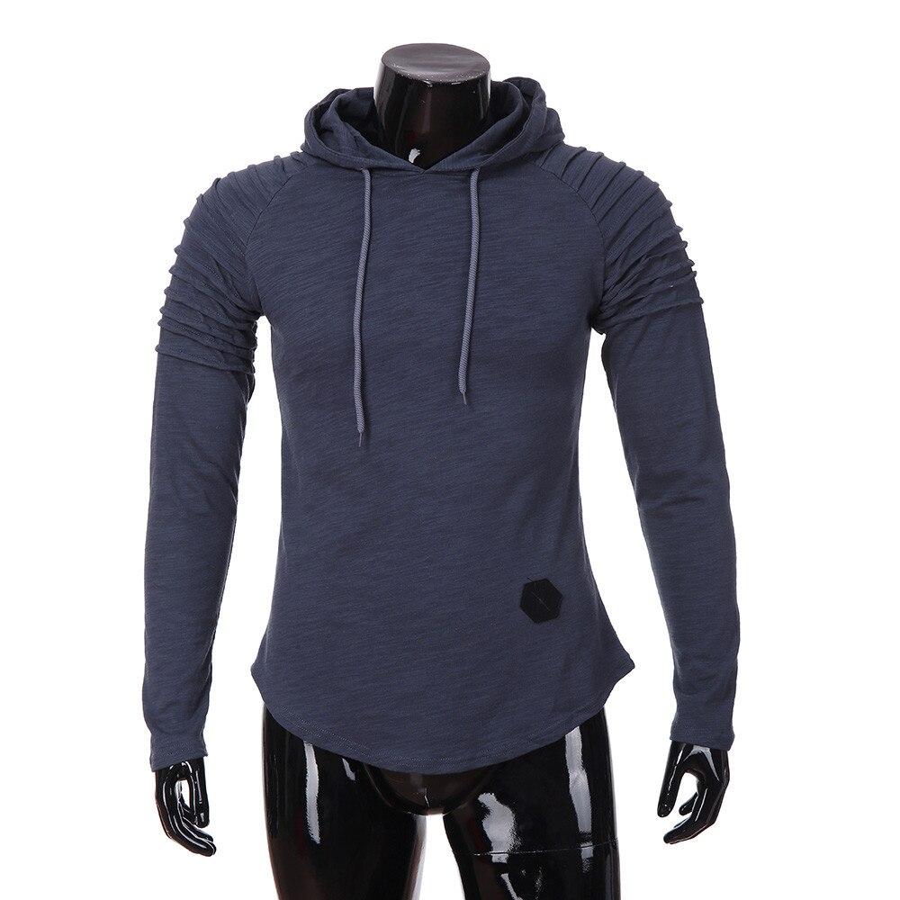 2019 Модный зимний осенний крутой мужской свитер с капюшоном, зимний Повседневный цветной свободный стиль