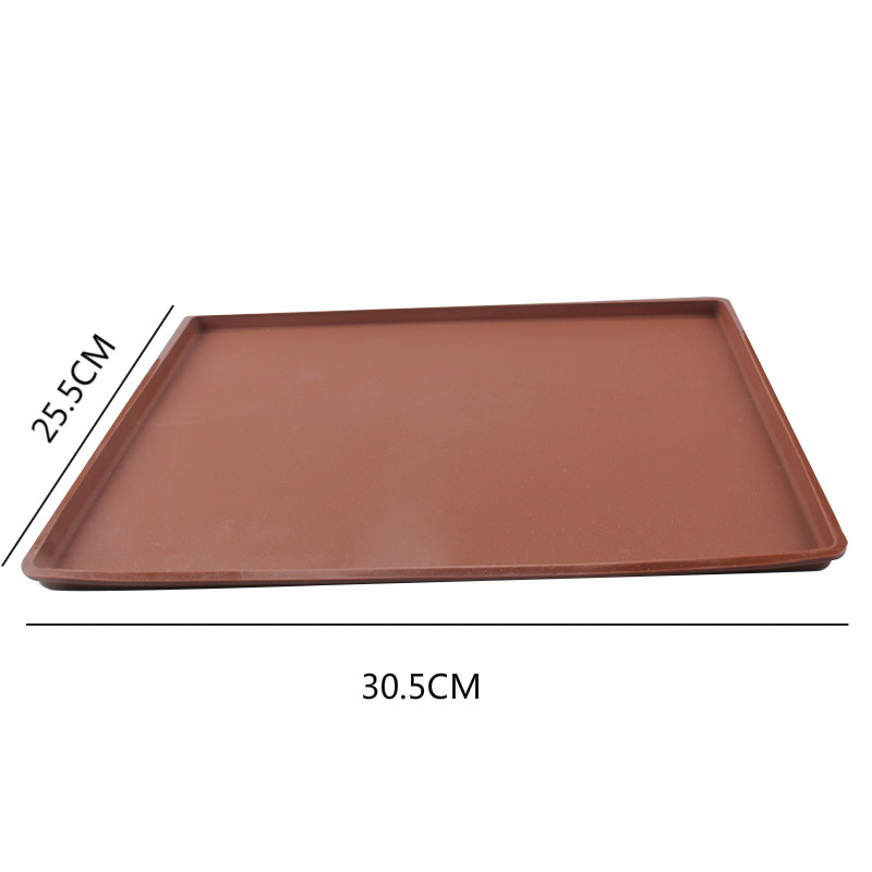 Silicone Baking Mat Tray Oven Rolling Mat Pastry Cake Baking Tools Kitchen Baking Accessories K1022 D