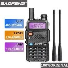 2019 Baofeng UV 5R III трехдиапазонная рация с двойной антенной VHF 136 174 МГц/220 260 МГц и UHF 400 520 МГц любительский радиосканер UV5R UV 5R