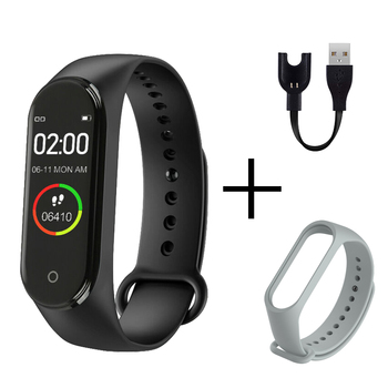 Smart Bracelet Health Couple Smart Band Heart Rate Blood Pressure Monitor Fitness Tracker Sports Watch Bluetooth for Android IOS