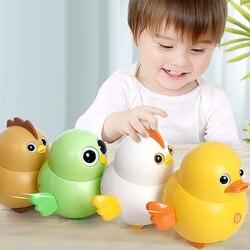 Baby Niedlich Elektrische Schaukel Magnetische Küken Entlein Eule Walking Squad Ente Schaukel Tier Spielzeug für Kinder Lustige Pädagogisches Spielzeug