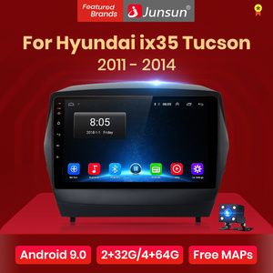Junsun V1 pro 2G+128G Android 10 For ix35 Hyundai Tucson 2 2009 - 2015 Car Radio Multimedia Video Player GPS 2 din dvd