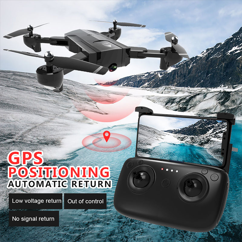 Mini RC Drone HD Camera Professional Aerial Photography Helicopter 360 Degree Flip Foldable Quadcopter Control Aircraft for Kids(China)