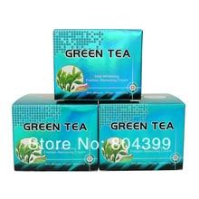 6 pcs/lot Green Tea whitening cream skin care anti freckle face cream цена 2017