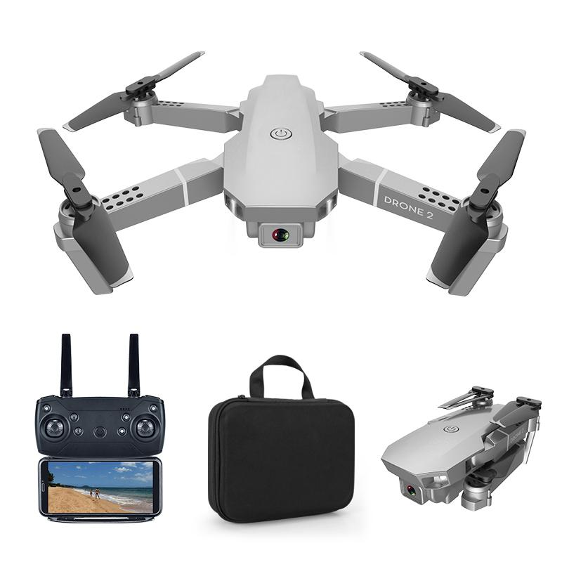 RCtown E68 pro 2.4G Selfie WIFI FPV With 4K HD Camera Foldable RC Quadcopter RTF Quadcopter height to maintain drone Toys Kid #X