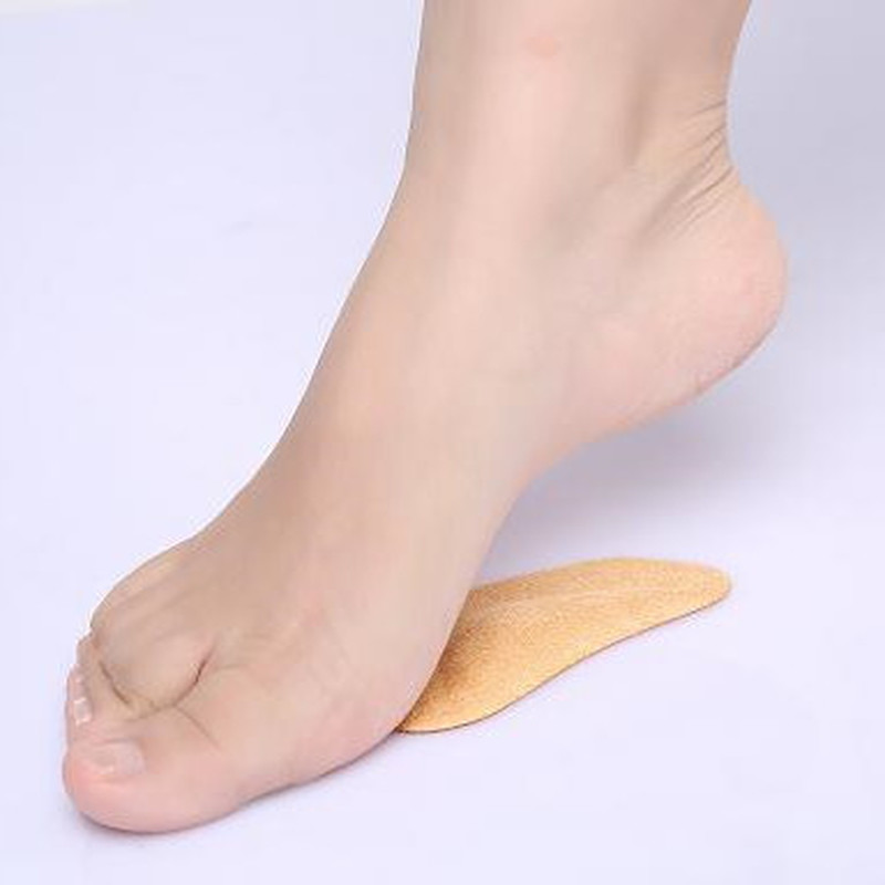 2× Silicone Gel Heel Cushion Protector Foot Feet Care Shoe Insert Pad Insole  TE
