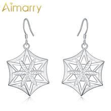 Aimarry 925 стерлингового серебра браслеты с подвесками в виде
