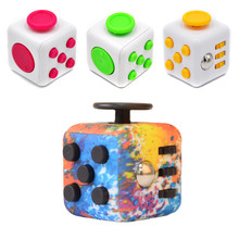Stress Relief Cube Anti-stress Toys Adult Office Desk Finger Toys Decompression Dice Spinner Anxiety Autism Reliever