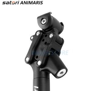 Image 5 - Satori bicicleta de amortecimento selim mountain bike seat post 27.2/28.6/30.0/30.4/30.9/33.9/31.6mm * 350mm forjamento/al6061 selim preto